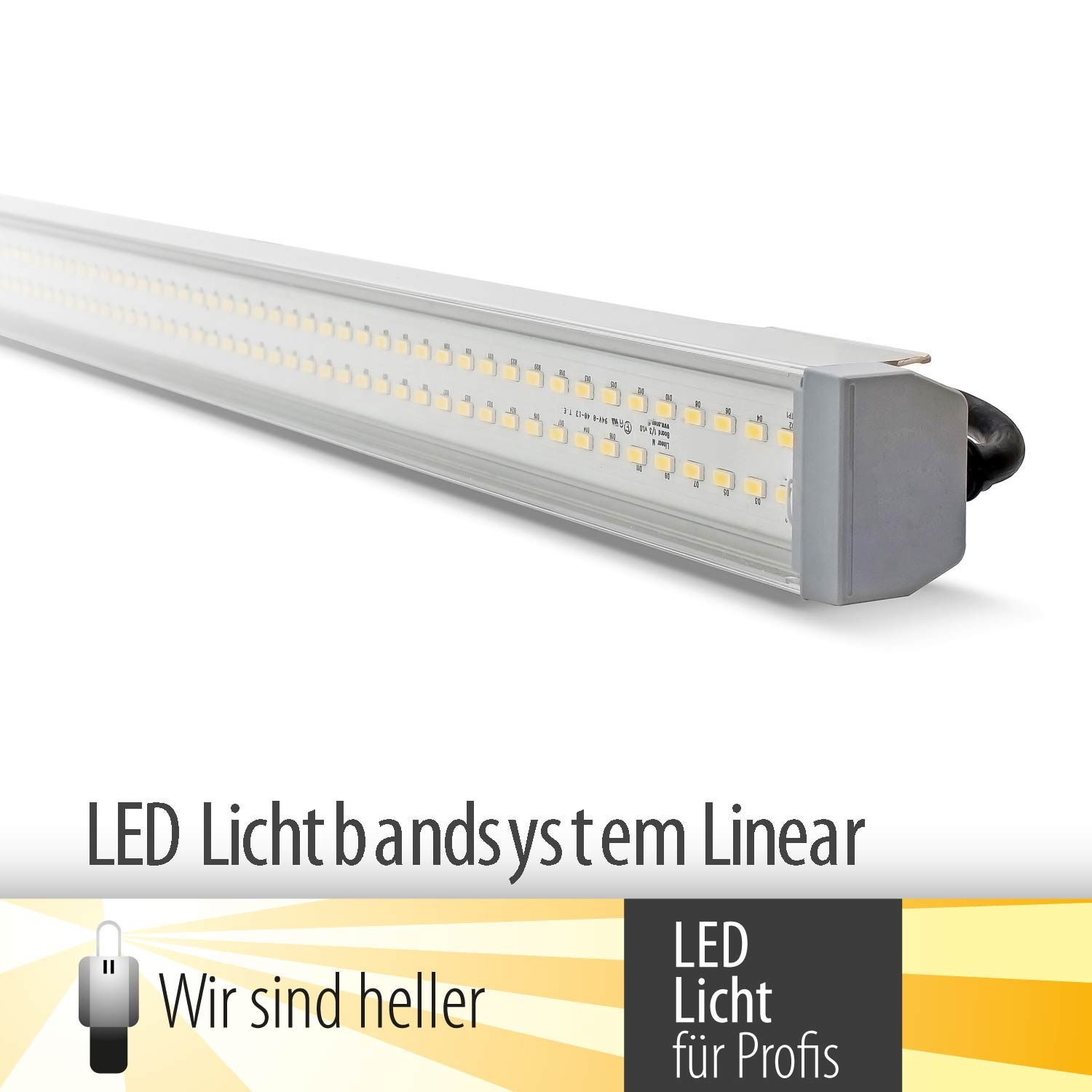 LED Lichtbandsystem Linear