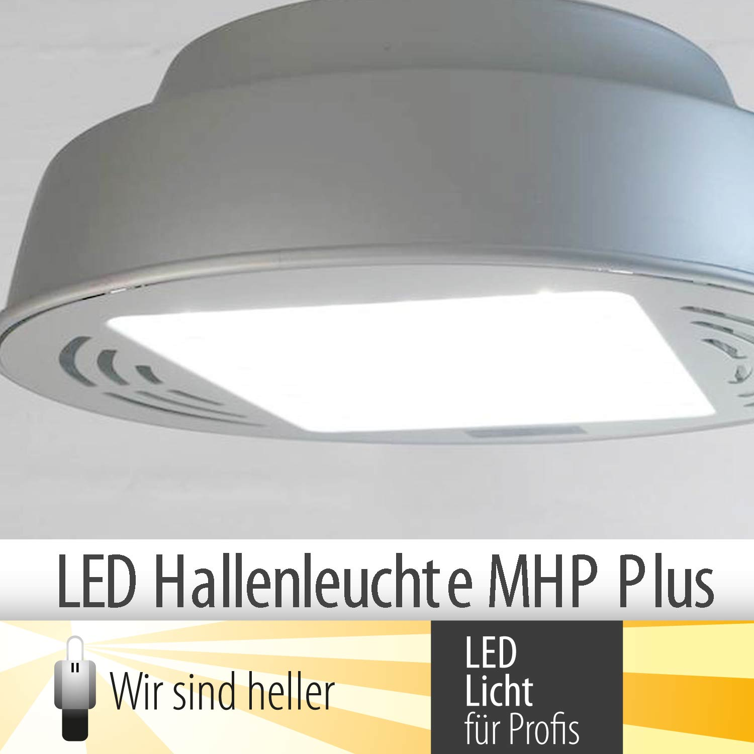 LED-Hallenstrahler MHP Plus